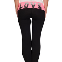 Maternity LOVE Yoga Pants