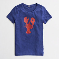 Factory lobster graphic tee