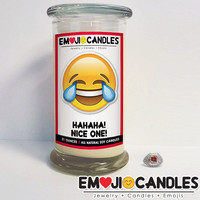 Hahaha! Nice One! - Emoji Jewel Candles