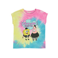 SpongeBob Graphic Tie-Dye Tee (Kids)