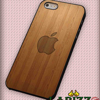 """wooden apple wallpaper for iPhone 4/4s, iPhone 5/5S/5C/6/6+, Samsung S3/S4/S5 Case """"08"""""""
