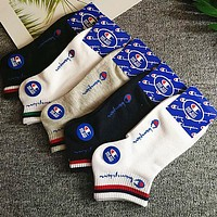 Champion Puma AAPE Summer Popular Men Casual Cotton Sport Socks