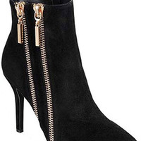 Alexis Zipper Booties