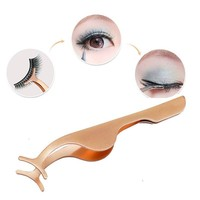 1Pcs Tweezers Clip Eyelash Curler Extension Sexy Eye Lash Makeup Cosmetics Tools Eyes Curling For Lashes Applicator Remover Clip