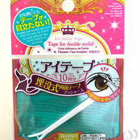 NEW! [DAISO JAPAN] Invisible Double Eyelid Adhesive Tape Sticker Made in Japan
