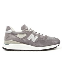New Balance Men's Charcoal M998CH Made in USA Sneakers