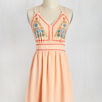 Folksy Focus Dress | Mod Retro Vintage Dresses | ModCloth.com
