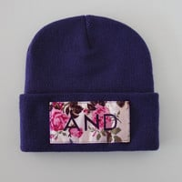 ANDCLOTHING — Purple And Beanie