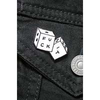 Fuck It Dice Enamel Pin
