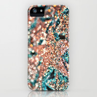 Starry Wishes and Bokeh Dreams...Coral Sea iPhone & iPod Case by Lisa Argyropoulos