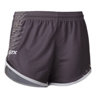 STX Crux Women's Lacrosse Short - Gray/Green