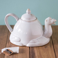 Room for Desert? Porcelain Teapot