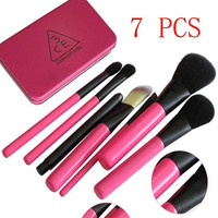 [BIG SALE] on Maquiagem 7 Piece Naked Makeup Brush Set [FreeShipping]