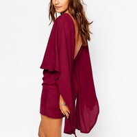 Missguided Cape Back Bodycon Dress