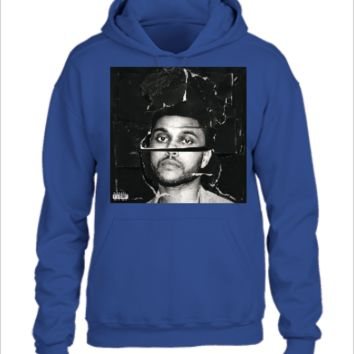 beauty behind the madness the weeknd tshirt - UNISEX HOODIE