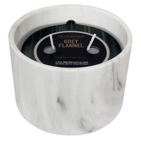 Urban Collection Grey Flannel Marble Jar Candle : Target
