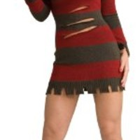 Nightmare on Elm Street Secret Wishes Miss Krueger Costume:Amazon:Clothing