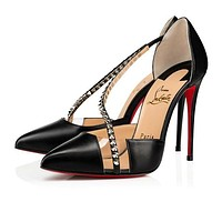 Christian Louboutin Pointed high heels 9/2