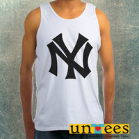 New York Yankees Clothing Tank Top For Mens