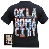 Girlie Girl Originals OKC Oklahoma City Thunder Logo Bright T Shirt