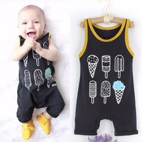Baby  Ice cream Romper