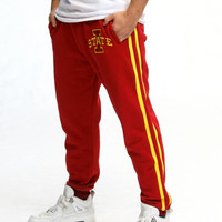 Iowa State Cyclones NCAA Mens Jogger Pant (Red)
