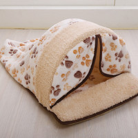 Hot Sale Pet Products Warm Soft Cat Dog House Pet Sleeping Bag Lovely Dog Kennel Dog Bed Puppy Kitten Pet Nest