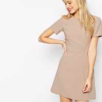 ASOS 60s Skater Dress With Seam Detail
