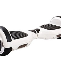 SanWay Smart Self Balancing Electric Scooter Balance 2 Wheels Unicycle Hoverboard, White