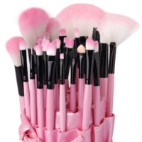 32 Pcs  Kabuki Brush Set With Pouch