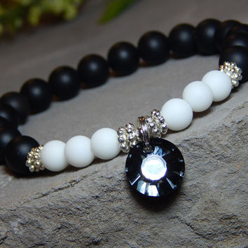 Black and White Classic Bracelet