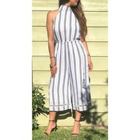 'The Striped Jumpsuit'