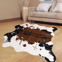 Fashion Stylish Bedroom Milk Cow Luxury Print Floor Mat = 4883570820