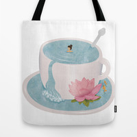 Relax Tote Bag by Laura O'Connor