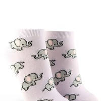 Baby Elephant Ankle Socks