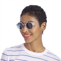 Sole Society Georgette Round Bar Sunglasses