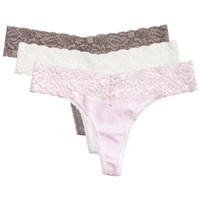 3-pack Cotton Thongs - from H&M