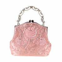 Wallets Retro Beaded Bag Dinner Bag Embroidery Evening Pack Small Party Bag