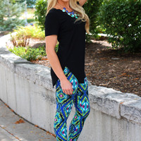 Get In My Closet Tunic - Black