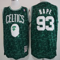 Celts x BAPE 93 x MITCHELL & NESS Basketball Jersey