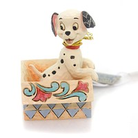 Jim Shore LUCKY IN A BOX MINI Polyresin Disney Tradition 4054287