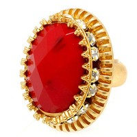 Designs by Stephene Stone and Crystal Statement Ring