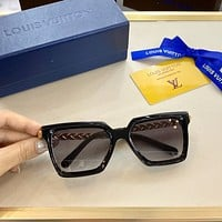 lv fashion woman summer sun shades eyeglasses glasses sunglasses 1
