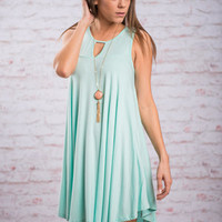Swing To The Music Dress, Mint