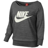 Nike Gym Vintage Long Sleeved Jersey Crew - Women's at Foot Locker