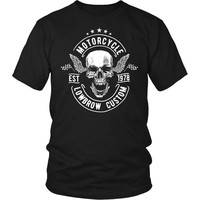 Motorcycle Lowbrow Custom T-Shirt