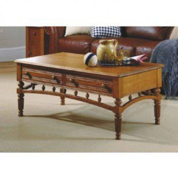 Peters-Revington American Tapestry Cocktail Table in Ginger Oak - 5921 - Accent Tables - Decor