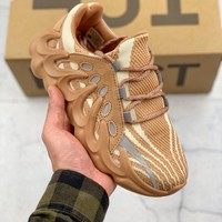 Kuyou Gx29827 Adidas Yeezy 451 Brown Sneakers
