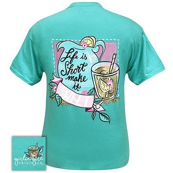 Girlie Girl Originals Preppy Life Is Short Sweet Tea T-Shirt