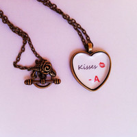 Kisses From A - Pretty Little Liars Inspired Necklace